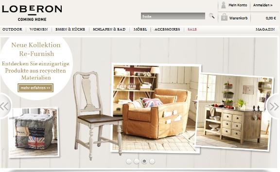 loberon m bel outlet angebote m bel outlet. Black Bedroom Furniture Sets. Home Design Ideas